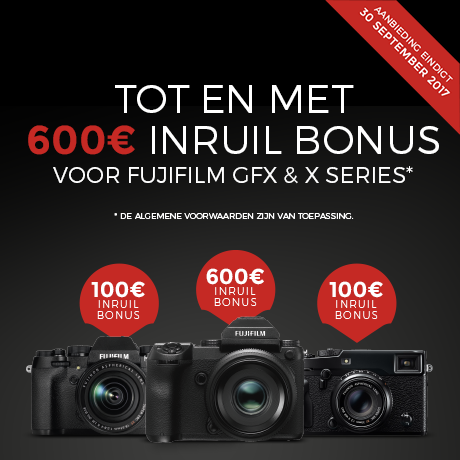Fujifilm - Trade In Cashback Bonus Europe - BE